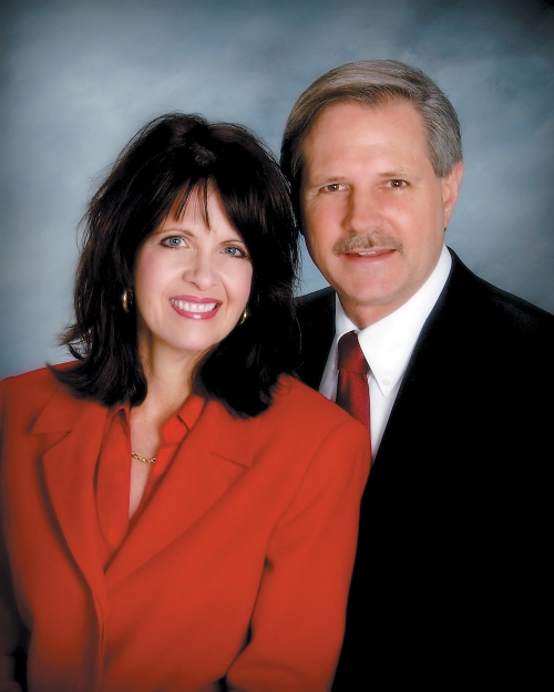 Senator John and wife Mikey Hoeven